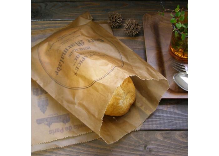 Mẫu túi giấy đáy dẹt bằng giấy sáp