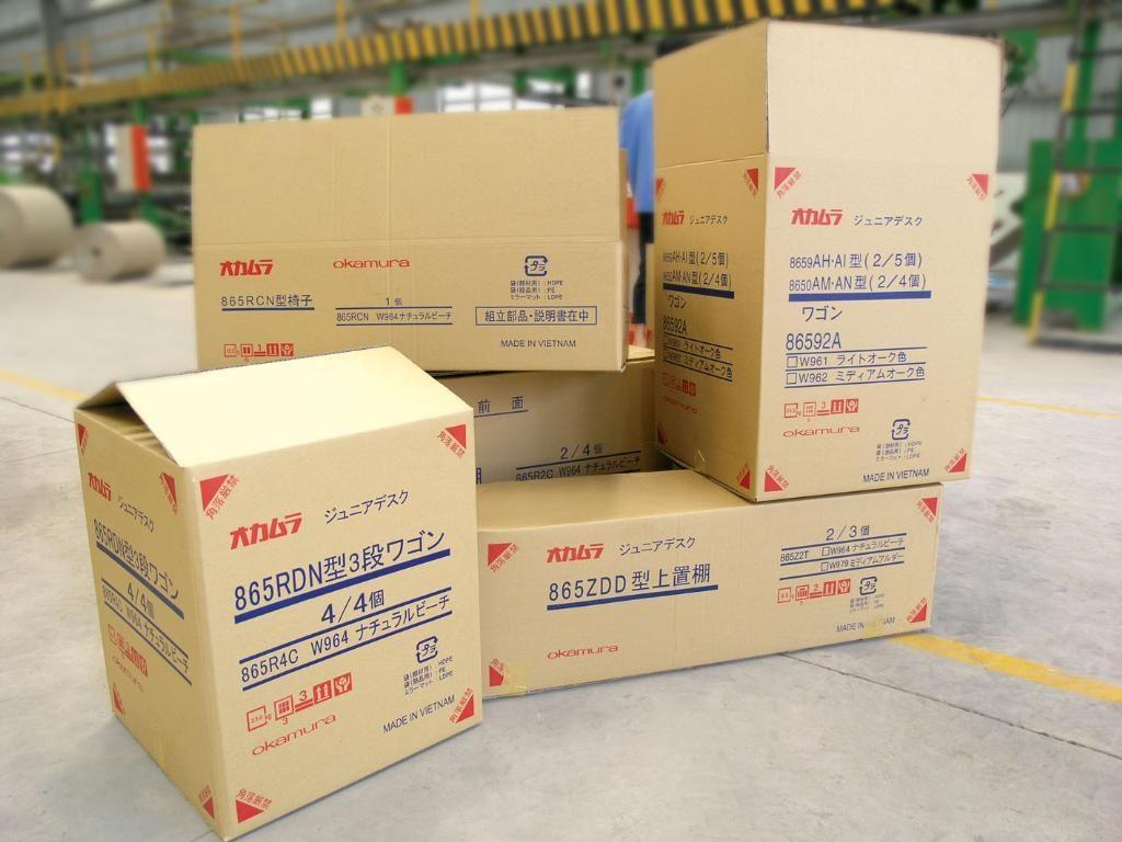 mẫu in thùng carton