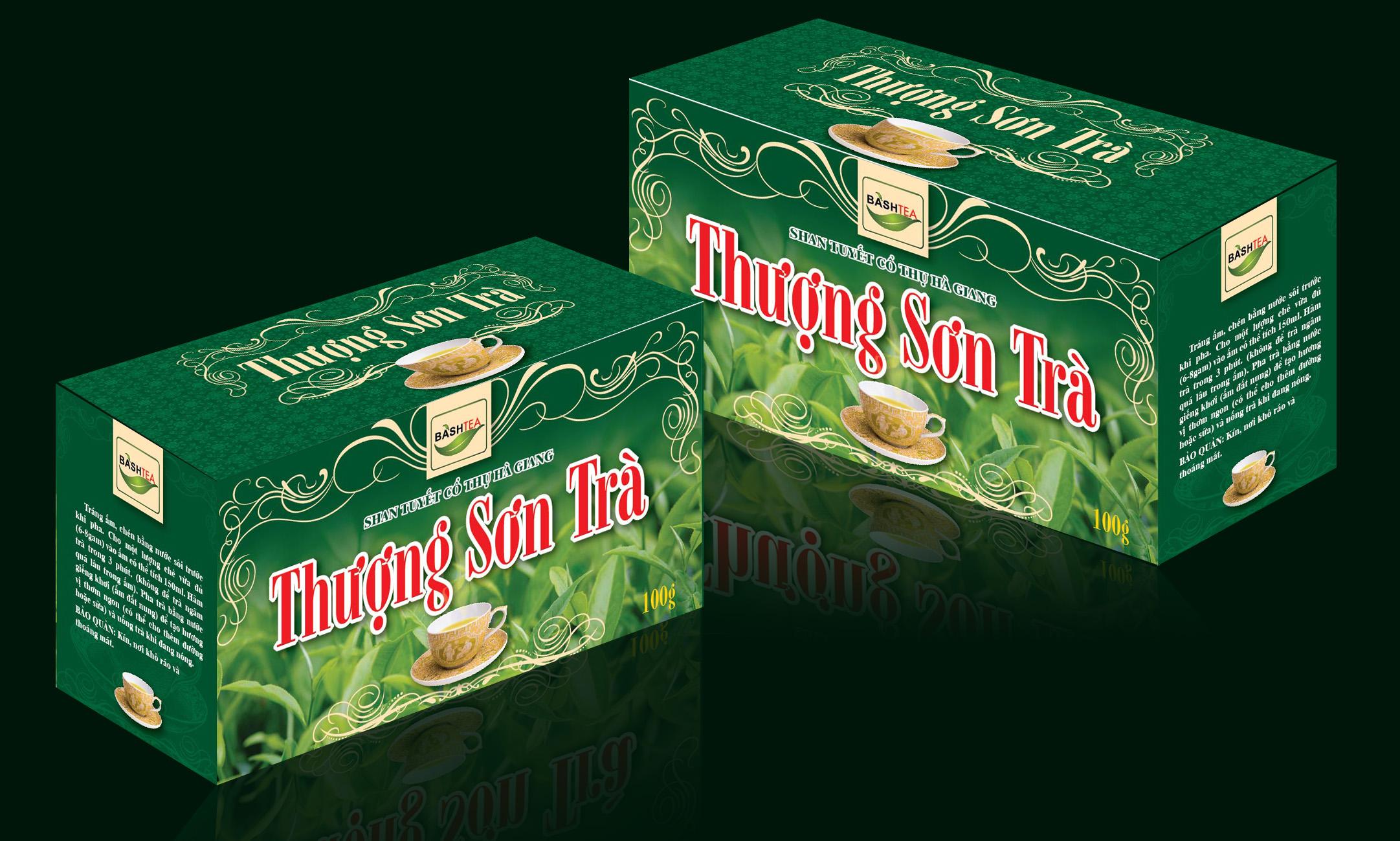 mẫu in hộp trà