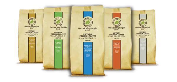 Bao bì kraft đựng cà phê
