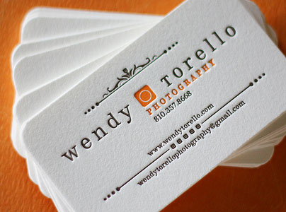 Name card giấy econo