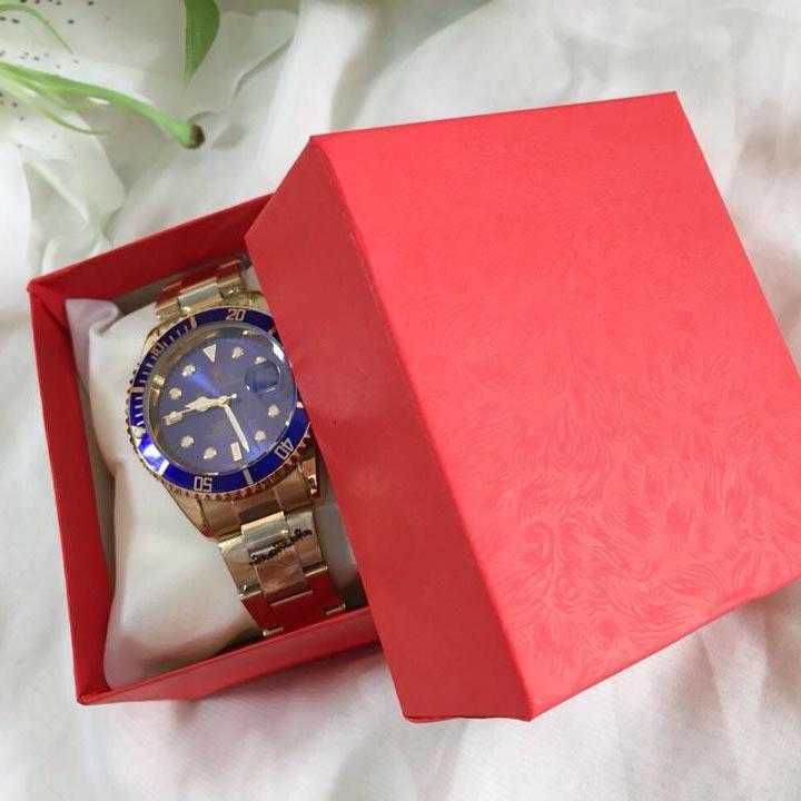 in hộp giấy đựng đồng hồ cao cấp