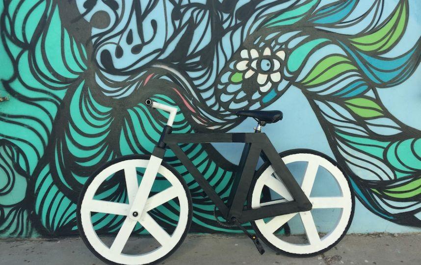 kinh danh xe đạp tái chế ý