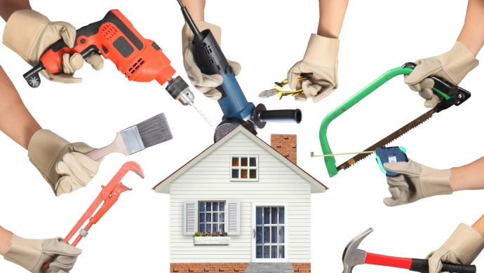 Dịch vụ sửa chữa hoặc tận dụng kỹ năng có sẵn