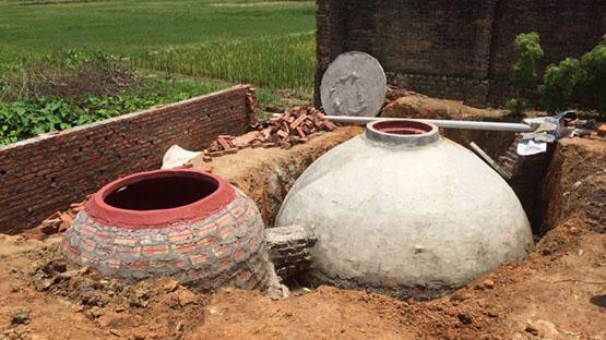 xây dựng hầm biogas hiệu quả